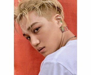 exo, lucky one, and kim jong kai image