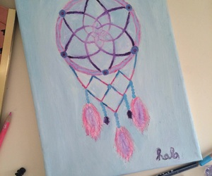dream catcher and painting image