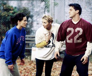 Courteney Cox, joey tribbiani, and monica geller image