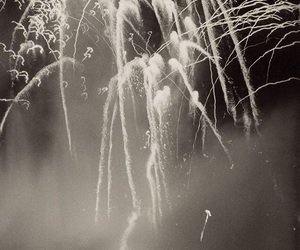 4th of july, black and white, and america image