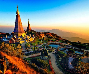 asia, chiangmai, and traveling image