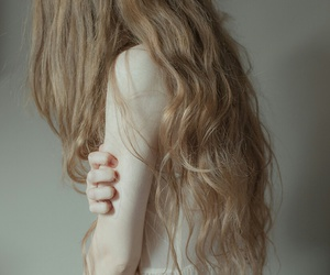 pale, skin, and hair image