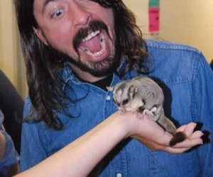dave grohl, eating, and face image