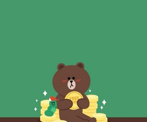 background, bear, and brown image