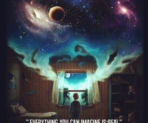imagine, quotes, and Dream image