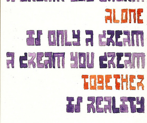 hand drawn type, type, and lennon image