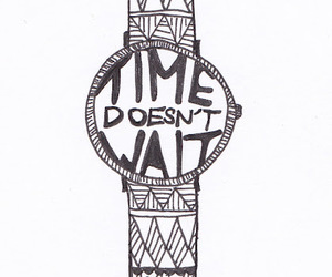 time and watch image