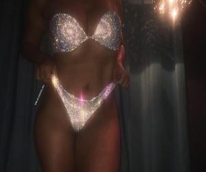 body, glitter, and diamond image