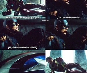Avengers, bucky, and captain america image