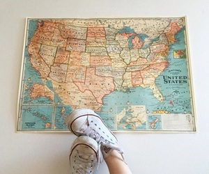 converse and map image