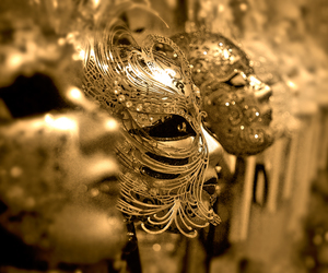 festival, mask, and venice image