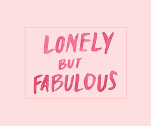 header, lonely, and fabulous image