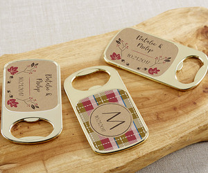 bottle opener, party favors, and wedding image