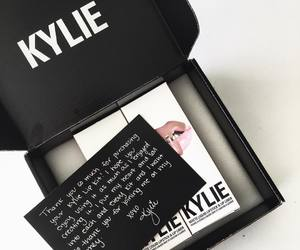 kylie, lipstick, and beauty image