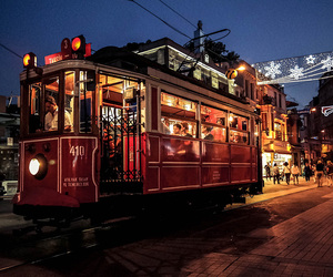 istanbul, taksim, and tramcar image