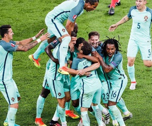 football, portugal, and euro 2016 image