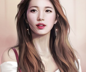 suzy, bae sueji, and fanart image