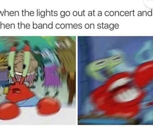bands, concert, and tumblr posts image