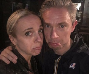 Martin Freeman and amanda abbington image