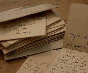 Letter, letters, and love letter image