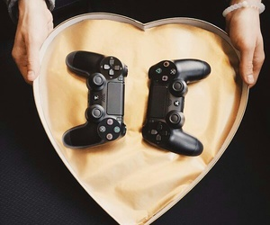 couple, goals, and video games image