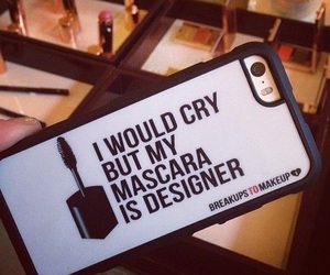 mascara, iphone, and case image