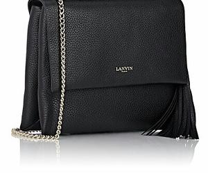 black, handbag, and Lanvin image