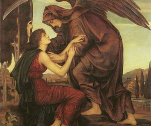 the angel of death and by evelyn de morgan image