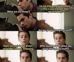dylan, funny, and teen wolf image