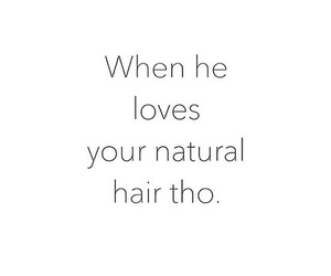 hair and quote image