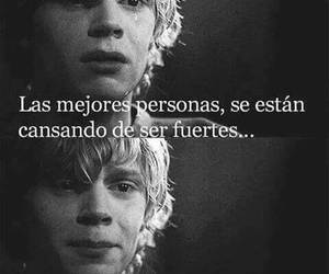 frases, american horror story, and sad image