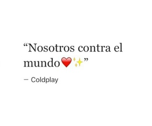 coldplay, frases, and couple image