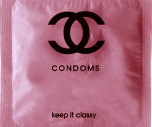 chanel, condoms, and rosa image