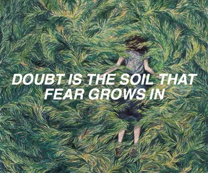 green and quote image