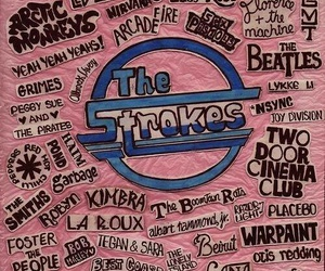 the strokes, music, and bands image