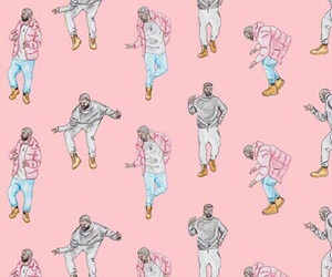 Drake, hotline bling, and wallpaper image