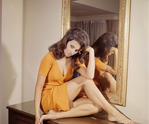 60s, yellow, and 70s image