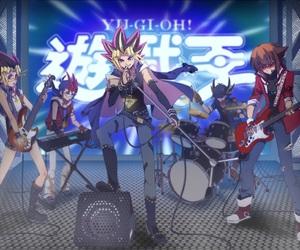 yami, yugi, and yugioh image