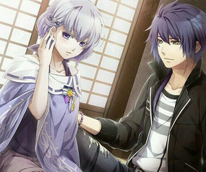 fan art, anime couple, and otome game image