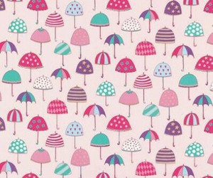 umbrella, pattern, and wallpaper image