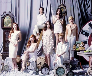 snsd, girls generation, and Time machine image