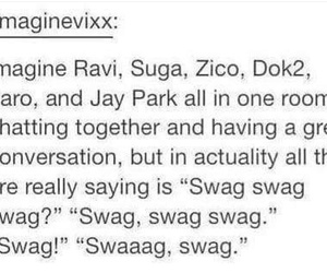 kpop, zico, and jay park image