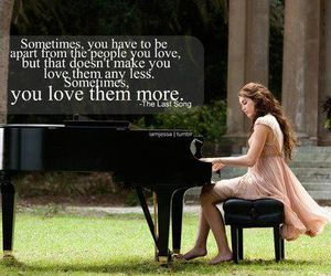the last song, miley cyrus, and quotes image