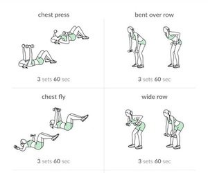 workout and exercise image