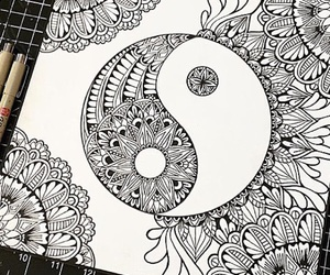 beutiful, pretty, and mandalas image