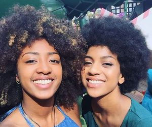 Afro, beauty, and natural hair image