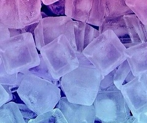 wallpaper, blue, and ice image