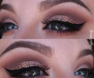 bridal, glam, and brows image
