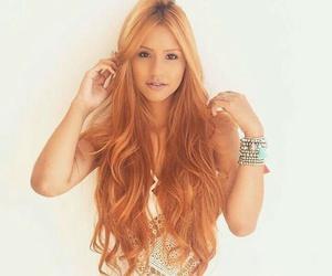 color, cabello, and naranja image