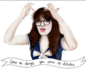 jessica day, new girl, and zoey deshanel image